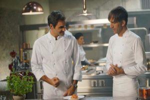 Davide Oldani - Roger Federer: un doppio da favola .....in cucina ...