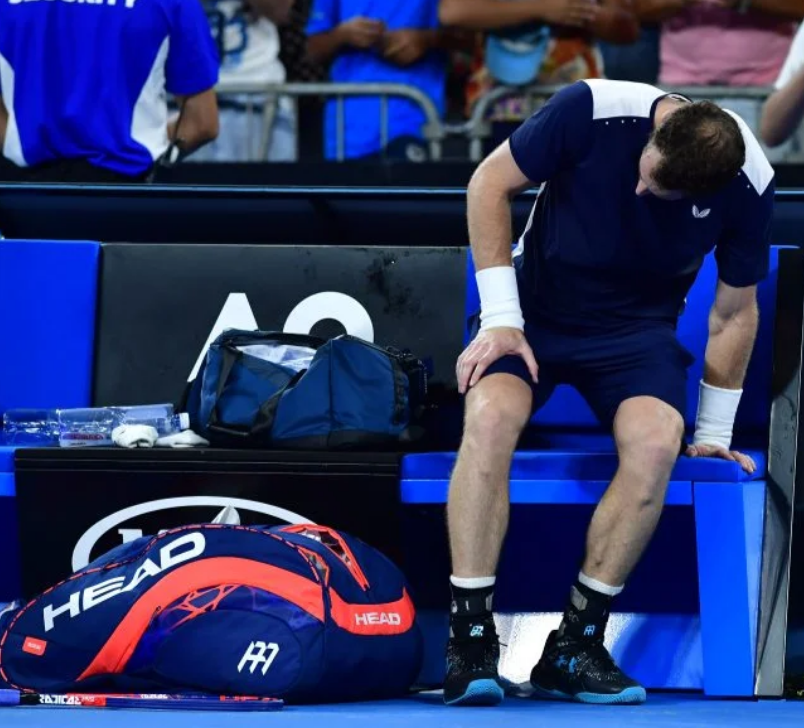 """Murray si è operato all'anca """"Spero che sia la fine dei miei dolori"""""""